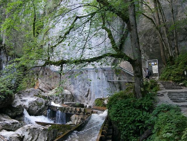 Eingang zur Pöllatschlucht in Hohenschwangau