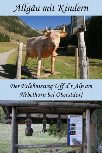 Erlebniswanderweg Uff d'r Alp am Nebelhorn bei Oberstdorf