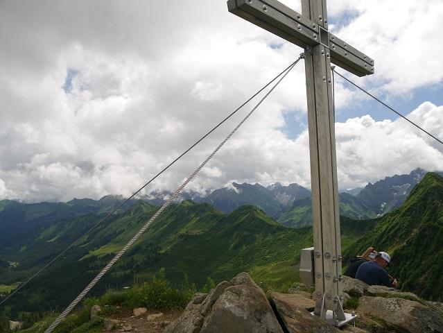 Bergtour aufs Steinmandl - auf dem Gipfell