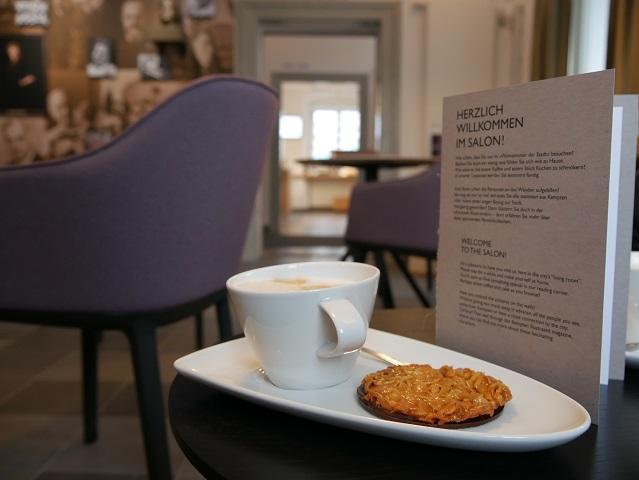 Café im Salon des Kempten-Museums