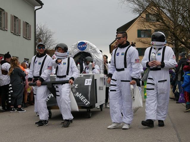 die NASA im Fasching