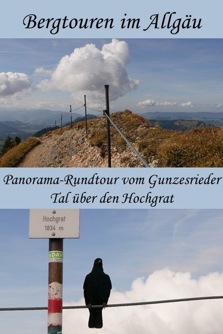 Panorama-Rundtour über den Hochgrat im Allgäu