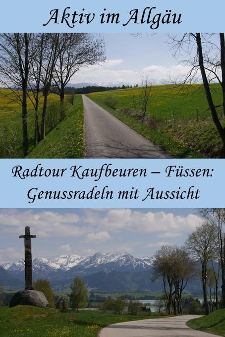 Radtour Kaufbeuren - Füssen