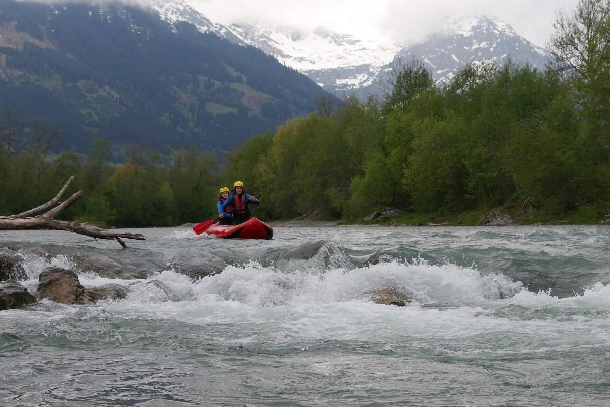 Rafting im Allgäu auf der Iller
