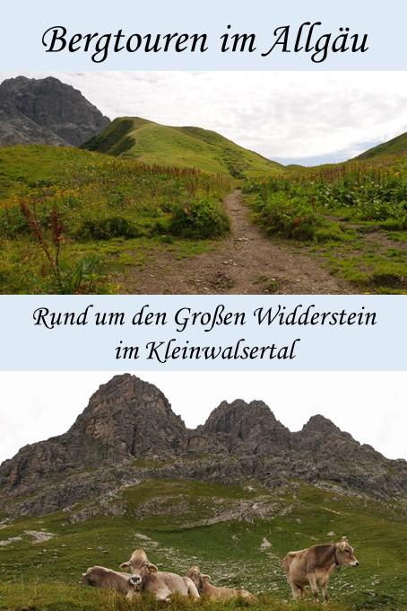 Wanderung rund um den Großen Widderstein im Kleinwalsertal