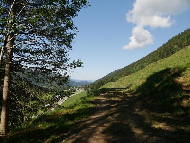 Säntisblick auf dem Balderschwanger Höhenweg