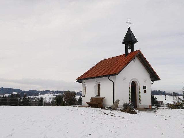 Insel-Schutzengelkapelle am Niedersonthofener See