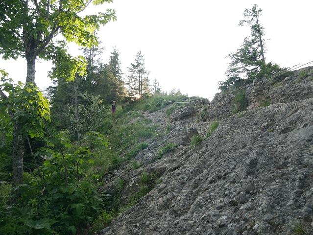 Kletterpartie zum Seelekopff