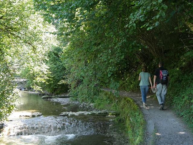 Spazierweg am Hausbach bei Weiler