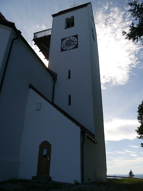 St.Georg auf dem Auerberg - Außenansicht
