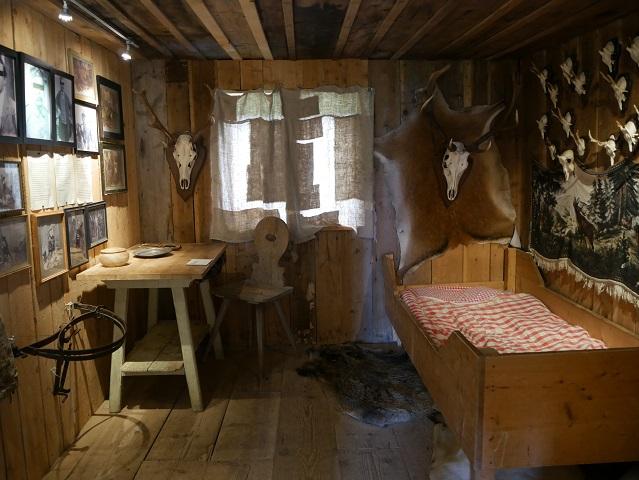 Stube in der Rosshütte