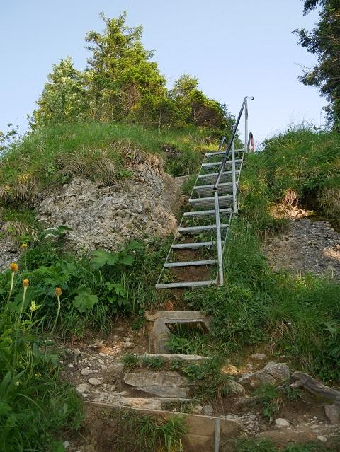Treppe zum Hochgrat