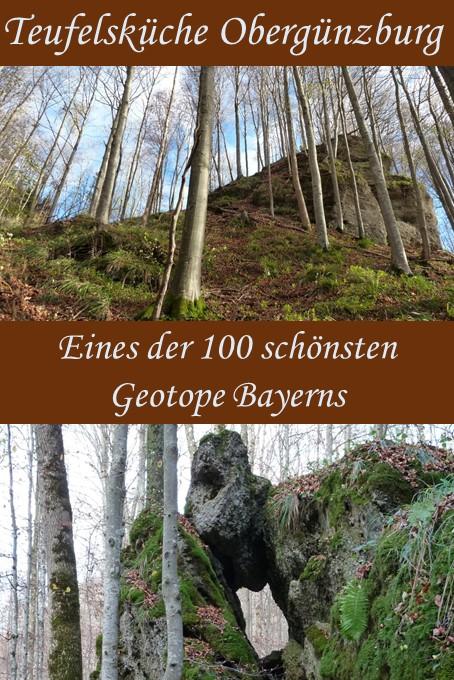 die Teufelsküche bei Obergünzburg - eines der 100 schönsten Geotope Bayerns
