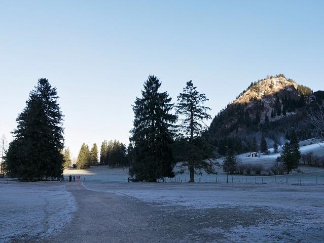 Wanderweg zur Tegelbergbahn-Talstation