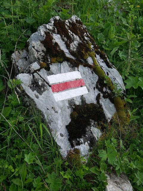 österreichische Wegmarkierung