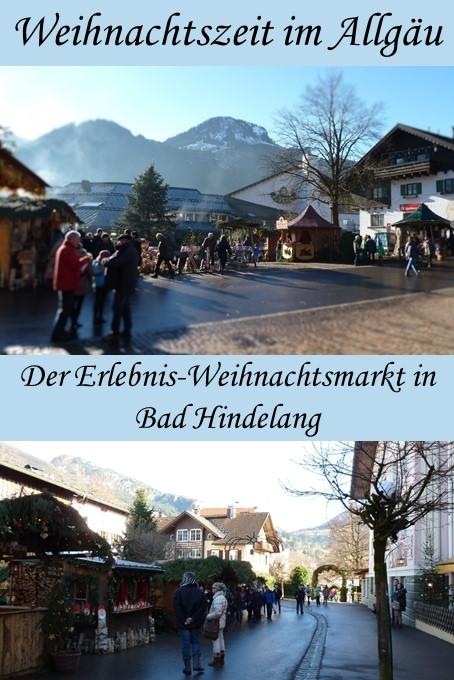Ein Erlebnis für die ganze Familie: Der Weihnachtsmarkt Bad Hindelang im Allgäu