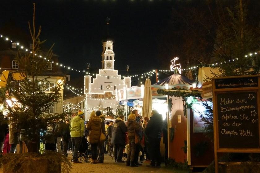 Kempten - einer der schönsten Weihnachtsmärkte im Allgäu