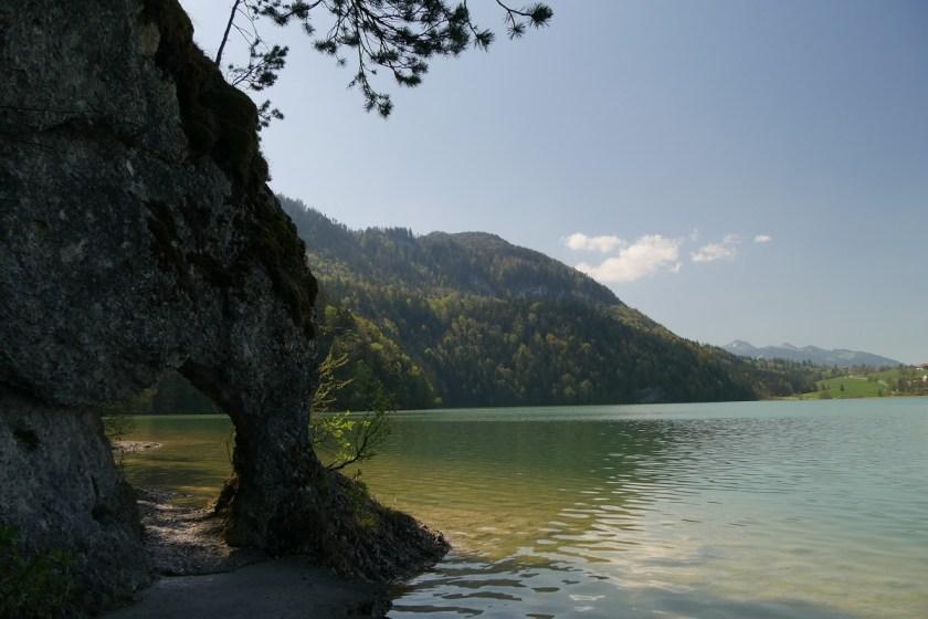 Felsentor am Weißensee