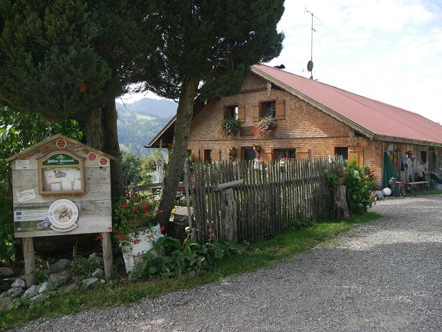 die Schneidberg-Alpe bei Thalkirchdorf