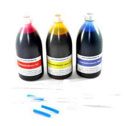 Farbstoffindikator Paket 3 Flaschen