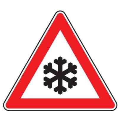 Schnee - oder Eisglätte