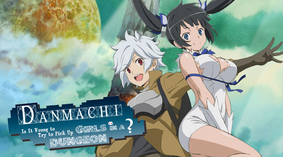 Danmachi - Is it wrong to try to pick up girls in a dungeon? | Anime Review