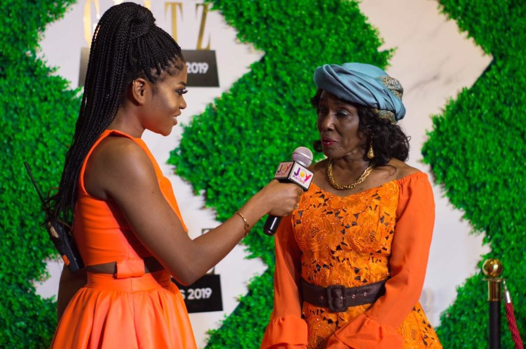 Eazzy Looks All Stylish As She Hosts Former First Lady At 2019 Glitz Awards