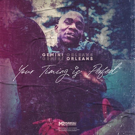 Multi talented rapper Gemini Orleans premieres his new album which he titled Your Timing is Perfect.