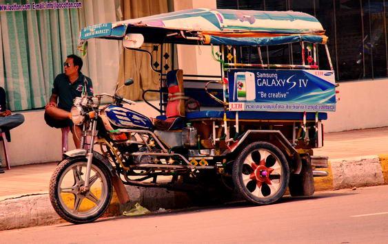 Vientiane Tuk Tuk