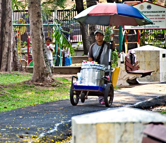 Chiang Mai City Park Vendor