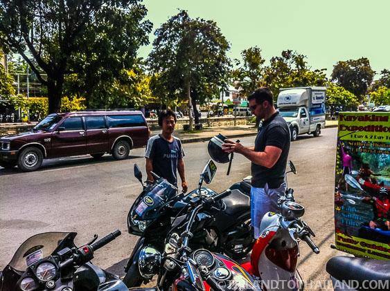 Chiang Mai Motorcycle Rental