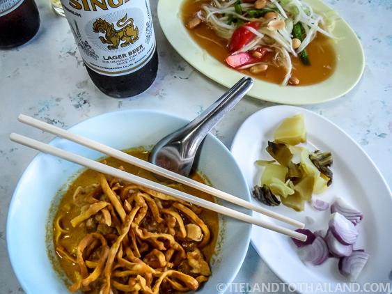 Khao Soi Gai Chicken ข้าวซอย
