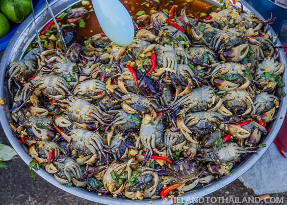 Thai Chili Crab Rong Kluae Market
