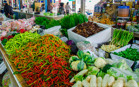 Thai Chilies at the Market