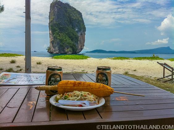 Food on Poda Island