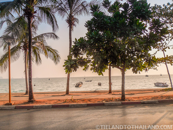Road Along Ao Nang Beach