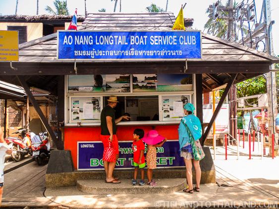 Ao Nang Longtail Boat Service Club