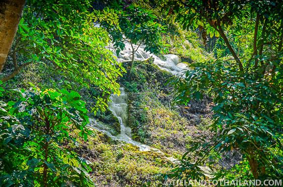 Sticky WaterFalls Chiang Mai View