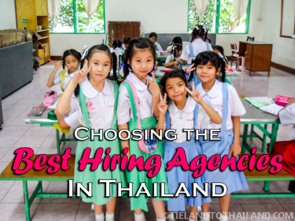 Choosing the Best Hiring Agencies in Thailand
