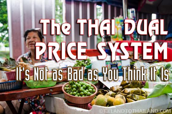 Thai Dual Price System