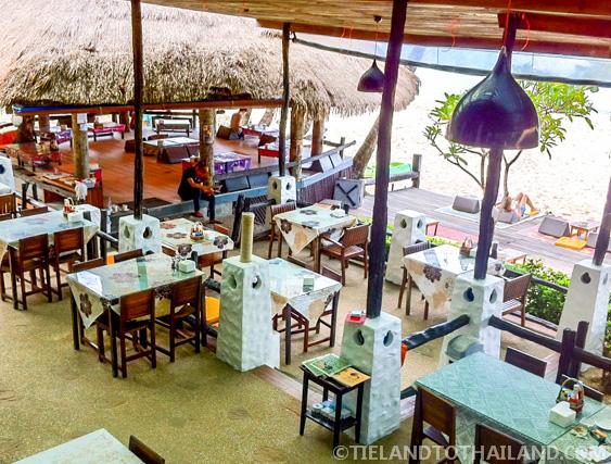 Nature Rocks restaurant at Nature Beach Resort