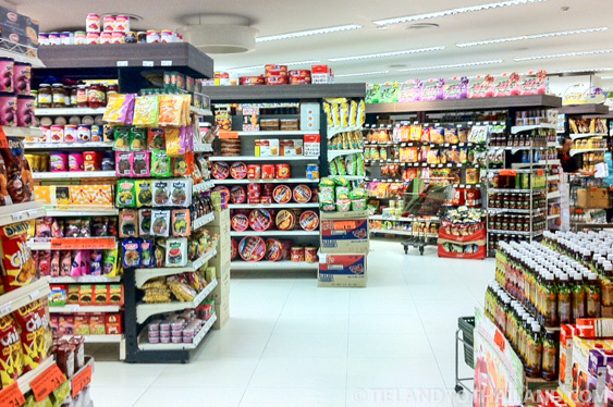 Rimping, a fantastic international grocery store in Thailand