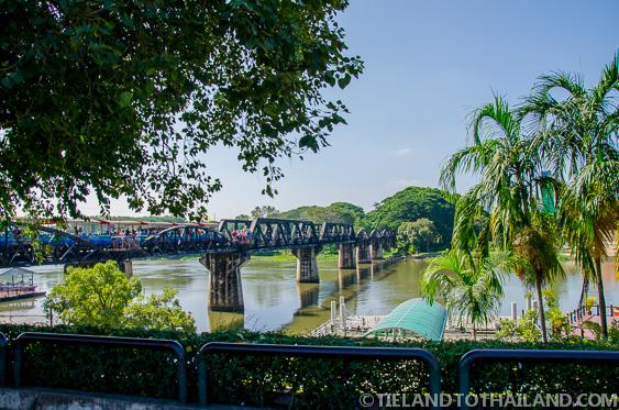 Bridge on theRiver Kwai, part of the Death Railway in Kanchanaburi, Thailand