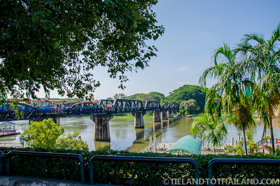 Bridge on theRiver Kwai, part of the Death Railway in Kanchanaburi, Thailand