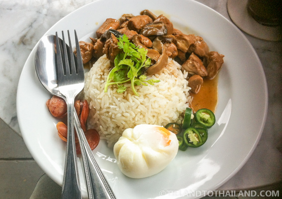 Fork and Spoon - The Typical Way to Eat Thai Food