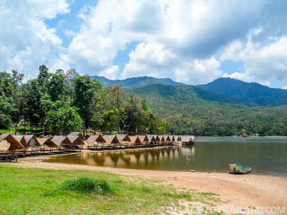 Beautiful views at Huay Tung Tao Lake