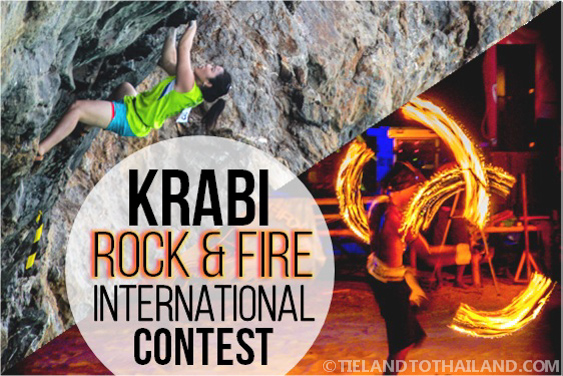 Krabi Rock and Fire International Contest