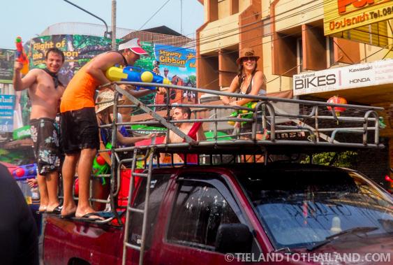 Being a Kid Again at Songkran