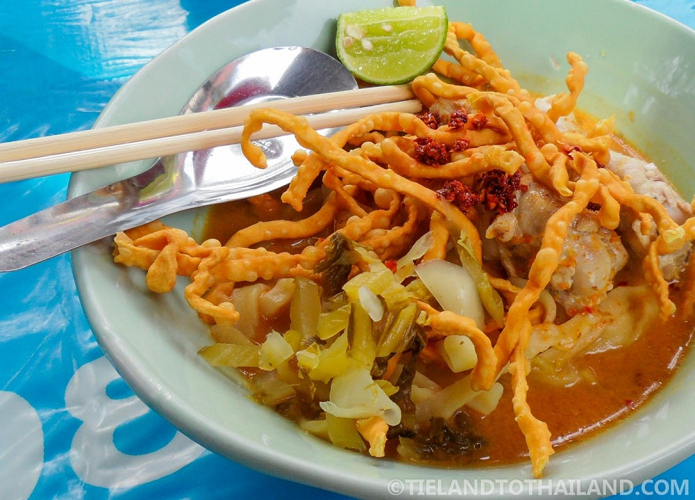 Khao Soi from Chiang Mai Gate Food Stalls