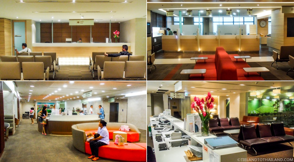 Bumrungrad International Hospital Waiting Rooms